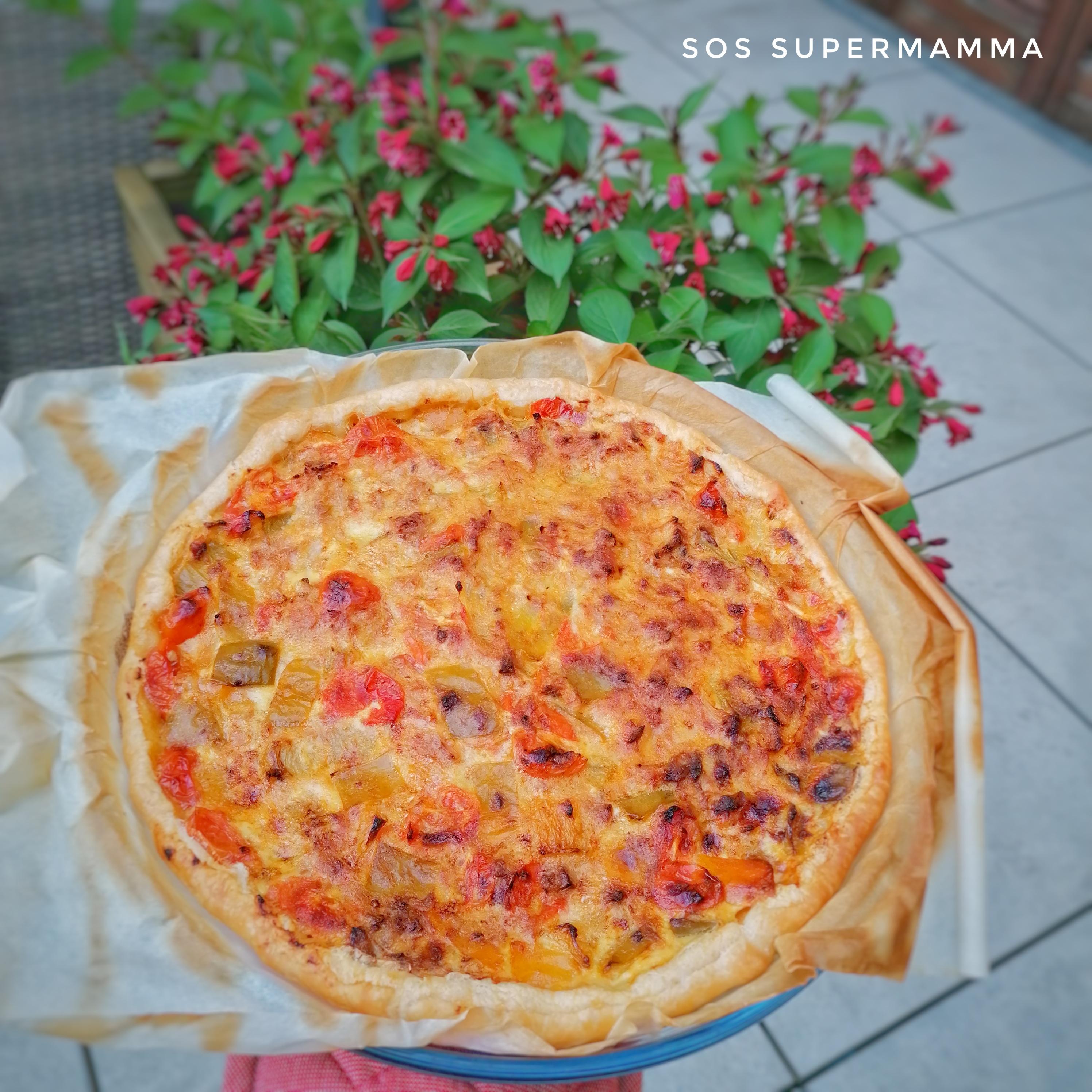 Torta salata rustica - Foto di Sossupermamma -