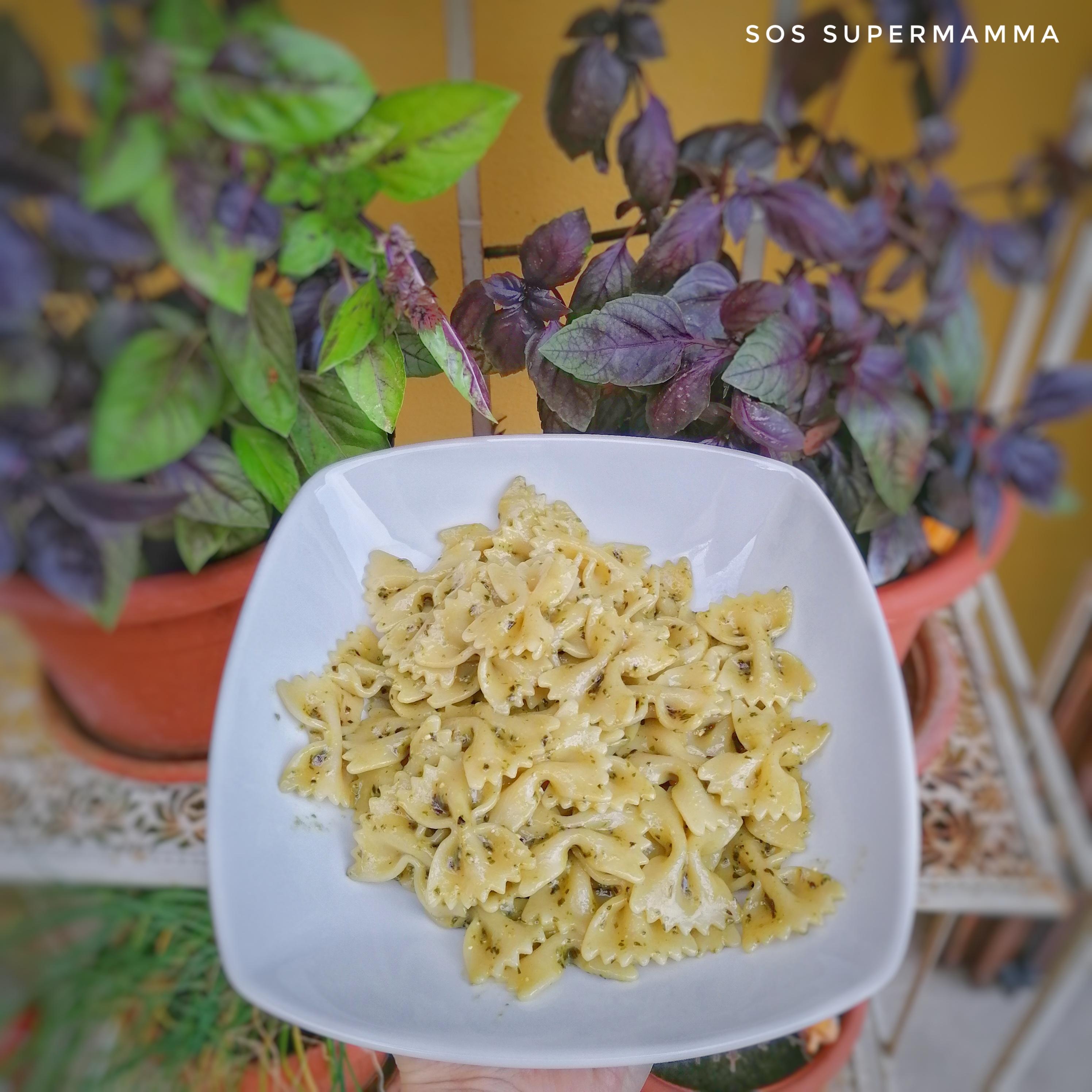 Pasta al pesto - Foto di Sossupermamma -