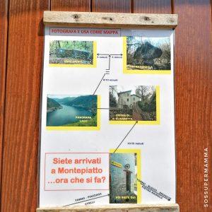 Indicazioni del luogo, località Montepiatto - Foto di Sossupermamma -
