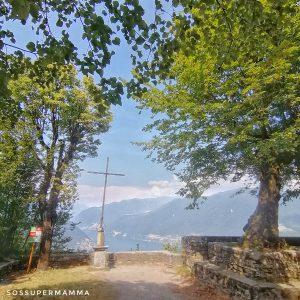 Montepiatto, inizio sentiero per massi erratici - Foto di Sossupermamma -