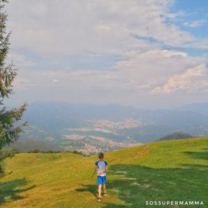 Vista dal Monte Poieto - Foto di Sossupermamma -