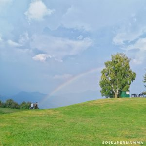 Arcobaleno sul Monte Poieto - Foto di Sossupermamma -