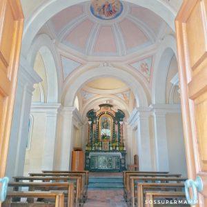 Interno della Chiesa di San Rocco - Foto di Sossupermamma -