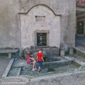 Fontana a Lasnigo - Foto di Sossupermamma -