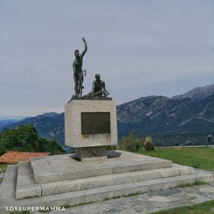 Statua di Coppi e Bartali - Foto di Sossupermamma -