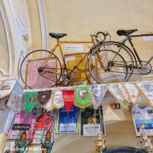 Bici e Maglia Gino Bartali - Foto di Sossupermamma -