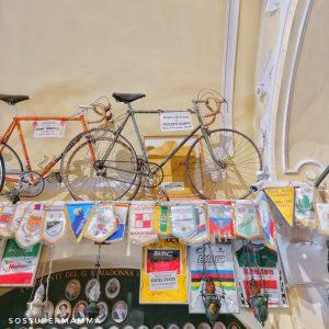 Bici e Maglia Fausto Coppi - Foto di Sossupermamma -