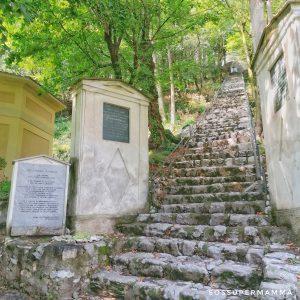 La scalinata - Foto di Sossupermamma -
