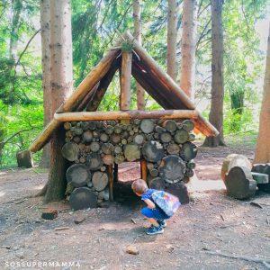 Casetta nel bosco - Foto di Sossupermamma -