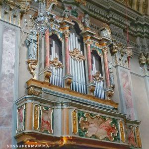 Organo della Chiesa - Foto di Sossupermamma -