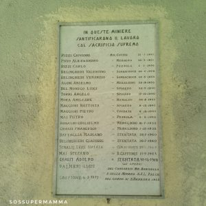 Ricordo ai minatori - Foto di Sossupermamma -