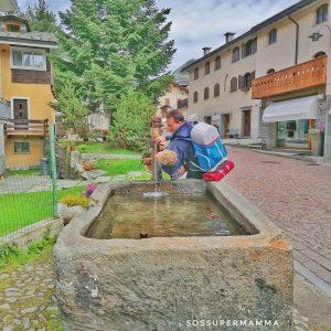 Fontana a Madesimo - Foto di Sossupermamma -
