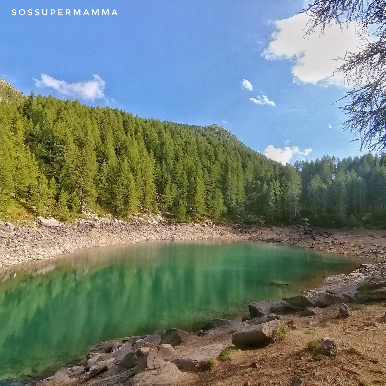 Lago Azzurro in Alpe Motta - Foto di Sossupermamma -