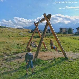 Altalene all'Alpe Motta - Foto di Sossupermamma -