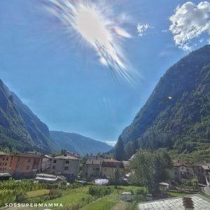 La vista dal parcheggio di San Martino - Foto di Sossupermamma -