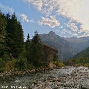 Il torrente in Val di Mello - Foto di Sossupermamma -