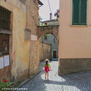 Le vie del Borgo di Claino con Osteno