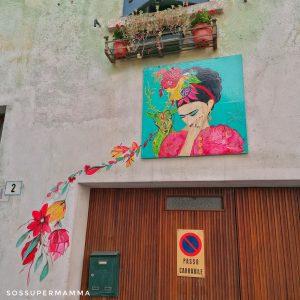 Frida Kahlo a Claino con Osteno