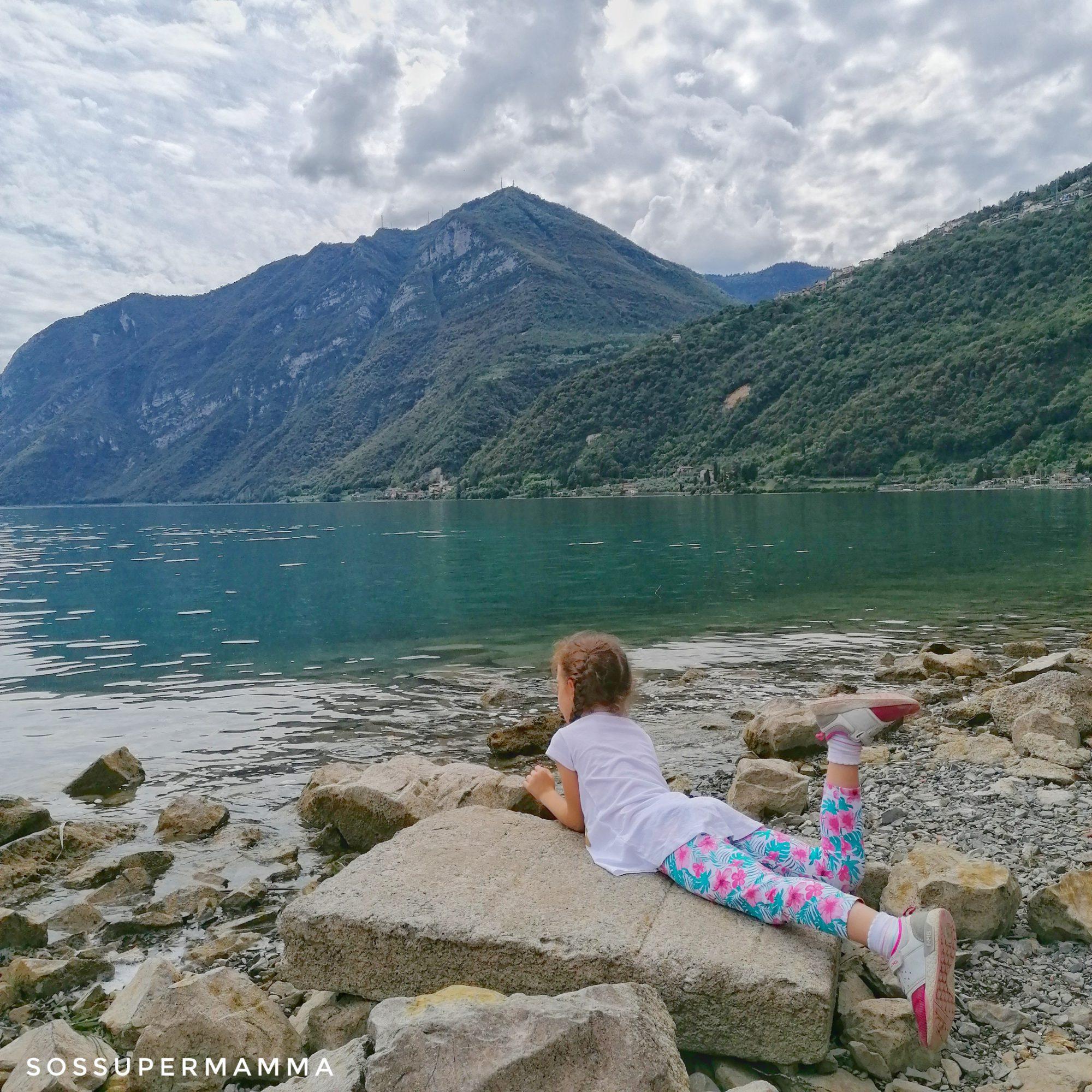Riva di Solto sul Lago d'Iseo