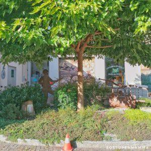 Esterno del Museo dei Vigili del Fuoco di Chiavenna